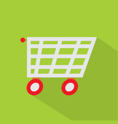 shopping icon set of great flat icons with style vector image