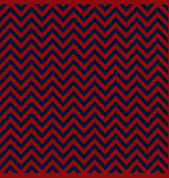 blue and red chevron retro decorative pattern vector image