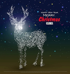 Deer composed of particles can be used as the vector