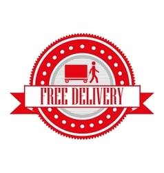 delivery service design vector image