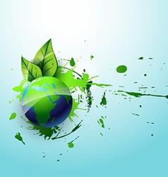 Eco earth vector
