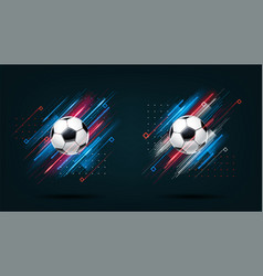 football cup 2018 soccer championship vector image