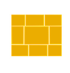 frame for photos vector image