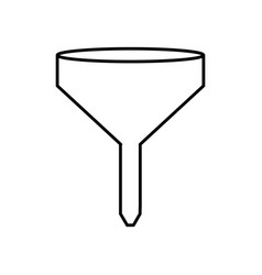Funnel icon image vector