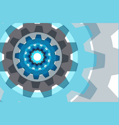 gear element vector image