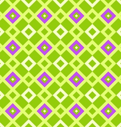 Geometric pattern green vector