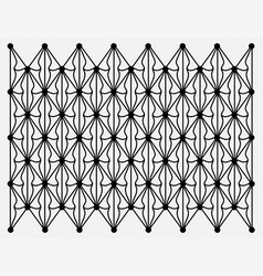 Geometrical doodle background vector