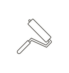 paint roller icon simple element from map and vector image