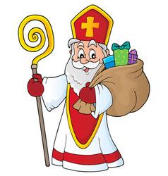 Saint nicholas topic image 4 vector