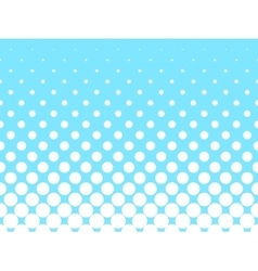 Halftone background of grey dots vector image