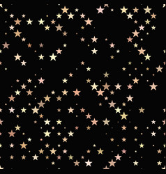 abstract repeating star pattern - background vector image