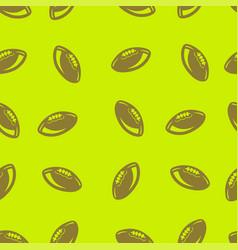 american football pattern seamless vector image
