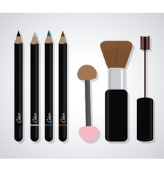 Design of Cosmetics and Make up vector