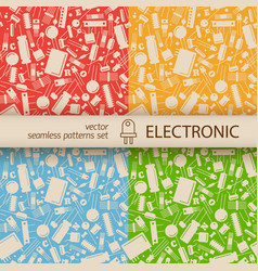 Industrial seamless pattern vector