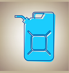 Jerrycan oil sign jerry can oil sign sky vector
