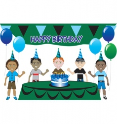 kids party vector image