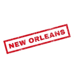 New Orleans Rubber Stamp vector image
