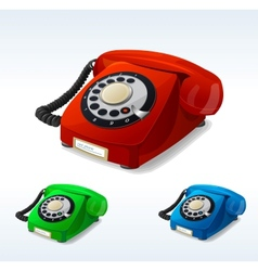 old phones vector image