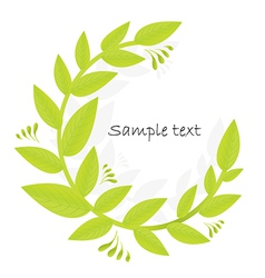 Olive Branch copy space vector