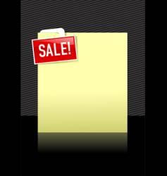 Sale frame vector