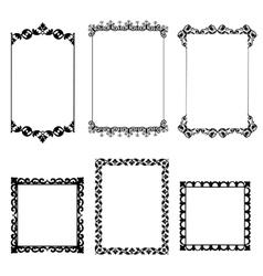 Set frame vector