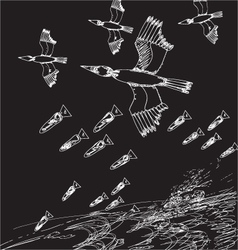 war concept vector image vector image