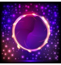 abstract background with a circle with light vector image