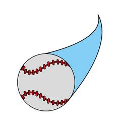 baseball icon image vector image vector image