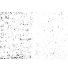Two dirt grunge texture overlay any objects vector image vector image