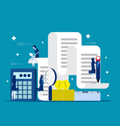 Business and accounting concept business finance vector