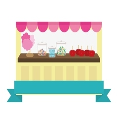 candy store icon image vector image