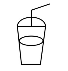 coke icon vector image