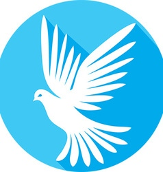 Dove Icon vector image vector image