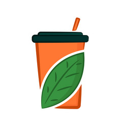 eco juice vector image