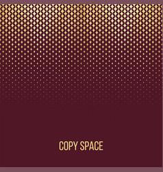 Golden particles background vector