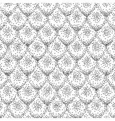 Halftone shapes background vector
