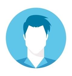Male avatar profile picture vector