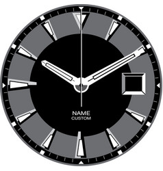 Smart watch face h vector