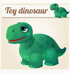 toy dinosaur 4 cartoon vector image