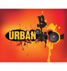 urban dance vector image