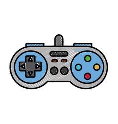 videograme controller icon vector image