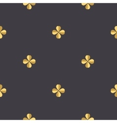 Quatrefoil clover seamless vector image vector image