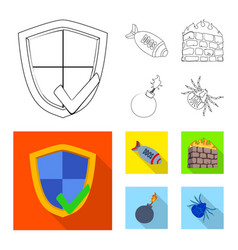 Design of virus and secure sign collection vector