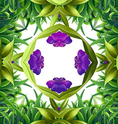 Flora pattern vector