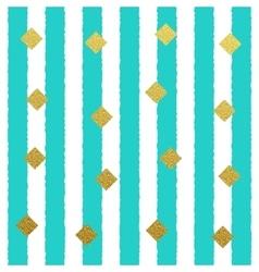 gold glitter dots seamless pattern vector image