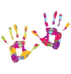 Handprint vector