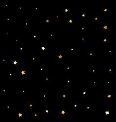 Premium sparkles stardust background pattern gold vector