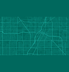 Teal and green las vegas city area background map vector