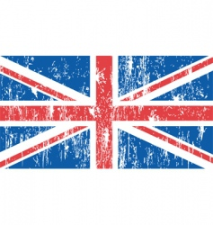 Union jack flag vector