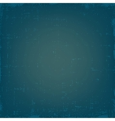 Vintage blue grunge texture or background vector image